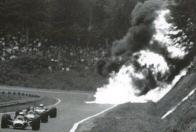 Honda RA302 crash