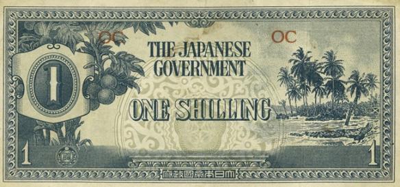 One Japanese Shilling